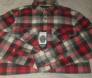 Raw yarn industries flannel shirt